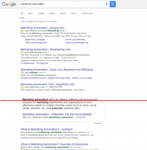 Organic results not showing above the fold in Google's new SERP