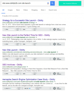 Internal links Obility SEO quick wins