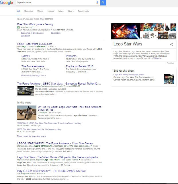 Search Results July