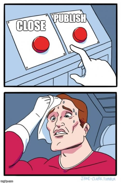 button choices