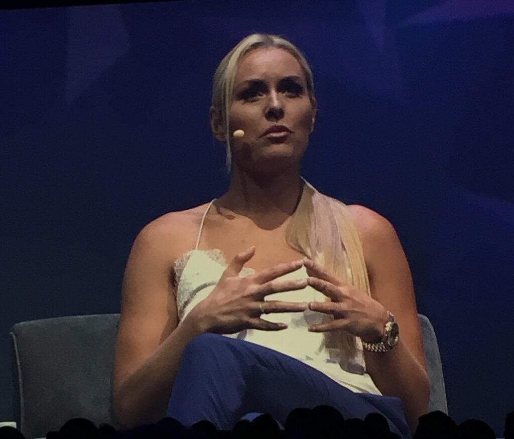 Lindsay Vonn Olympian Marketing Nation Summit 2018