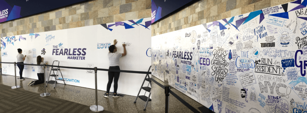 What Would You Do If You Knew You Could Not Fail Word Mural Summit 2018