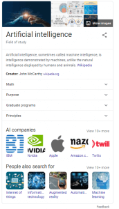 Knowledge Graph SERP Feature